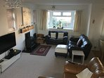 Large freeview/Smart TVs in all rooms. Iphone player and charger. DVD and Video with lots to watch.