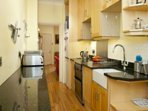 Fully equipped kitchen with all mod cons- dishwasher, electric hob, oven and grill, mircowave etc.