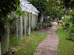Own walkway to cottage