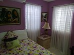 Air conditioned bedroom/ (mosquito screened)