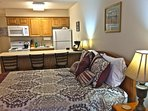 Our condos are superior to traditional motel rooms