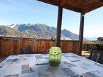 sehr schöne Panorama Aussicht stunning views of Seefeld and the mountains arround
