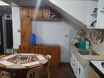 Dining and Kitchen - with cooking and dining utensils
