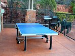 Have a little friendly-competition at the ping-pong table