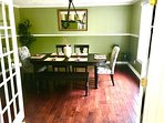 Formal Dining Room with bay window