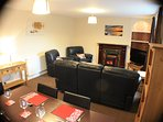 At 2 Isygraig there is a choice of two dining areas .