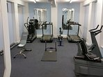 Small well equipped gym available to Molly's Folly guests