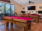 Take advantage of the excellent game room