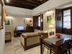 Living-dining room.
