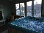 Hot Tub-main level