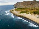 Playa Pescadero is infront of the villa!