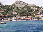Boat trip from Fethiye, 2 islands cruise