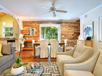 Chick-a-pea's Cottage sleeps 7 - living area