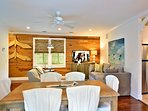 Chick-a-pea's Cottage sleeps 7 - living / dining