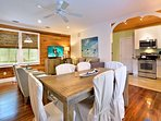 Chick-a-pea's Cottage sleeps 7 - dining / kitchen