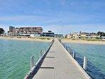 Yacht club jetty ( Dolphin cruises)