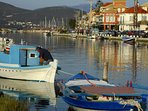 Picturesque Lefkada seafront just a few mins drive away