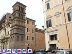 1) The luxury apartment in Palazzo Panizza. Built in year 1600. Overlooking Church S.M. Monticelli