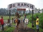 About 15 mins drive to De'Ranch (Lembang Direction)