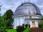 About 10 mins drive to Bosscha Sterrenwacht (Observatorium)