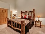 Master bedroom - king with flatscreen