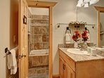 Master Bathroom - shower/tub with jets