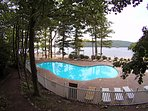 Boulder Lake Club includes pool, beach & boating