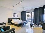 Top floor bedroom.