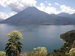 Lakeview of Lake Atitlan from the house.