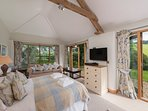 Bedroom 3 in the Cart Shed - Views up the valley