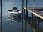 Boat dock; fishing pier