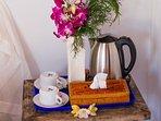 free tea and coffee maker