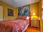 Bright and friendly guest bedroom