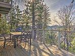 You'll love the panoramic mountain views at this impressive Lake Arrowhead vacation rental home!