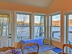 Enjoy lake views throughout the property.