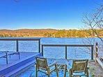 Lounge outdoors and admire tremendous lake views.