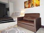 2 Seater Sofa Bed.