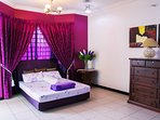 Lavender Ensuite with balcony and bathroom