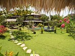 17 ares of lush tropical garden near the Beach