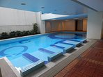 Swimming Pool on the 7th Floor.