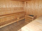 1 of 2 Sauna Rooms also on the 7th Floor.