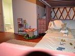 Enchanted woodland yurt