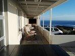 The stoep (veranda) includes an undercover braai (BBQ)