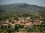 The charming village of Durban Corbieres - shops and other facilities within an easy stroll.