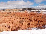 Cedar Breaks is a beautiful smaller version of Bryce Canyon, but closer