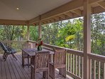 Upstairs Lanai with Outdoor Dining and Lounging