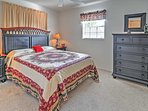 This property offers comfortable sleeping accommodations for up to 6 guests.