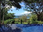Nice sunny day, jungle and ocean view