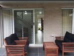 Back Patio - fully screened for those hot summer nights.