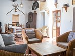fine wooden furniture for a rustic and Spanish feel